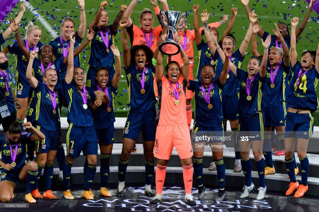 El Olympique Lyon gana su quinta Champions  consecutiva