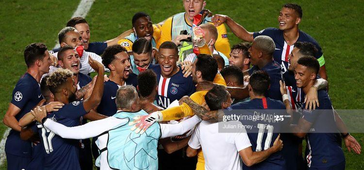 El Psg a la final de Lisboa